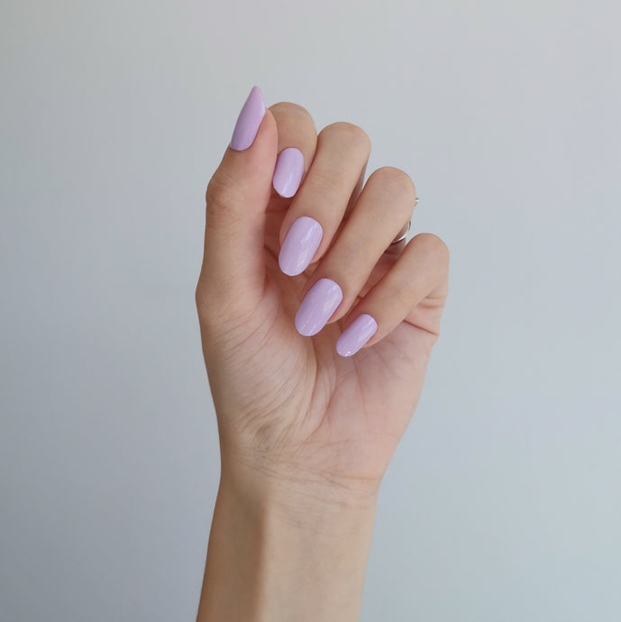 Buy Luscious Lilac (Solid) Nail Polish Wraps at the lowest price in Singapore from NAILWRAP.CO. Worldwide Shipping. Instant designer nail art manicure in under 10 minutes.