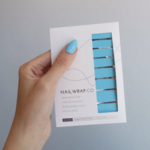 Buy Heart of the Ocean (Solid) Nail Polish Wraps at the lowest price in Singapore from NAILWRAP.CO. Worldwide Shipping. Instant designer nail art manicure in under 10 minutes.