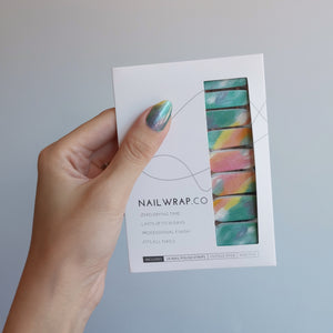 Buy Over the Rainbow Nail Polish Wraps at the lowest price in Singapore from NAILWRAP.CO. Worldwide Shipping. Instant designer nail art manicure in under 10 minutes.