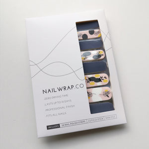 Buy Slate Foliage Nail Polish Wraps at the lowest price in Singapore from NAILWRAP.CO. Worldwide Shipping. Instant designer nail art manicure in under 10 minutes.