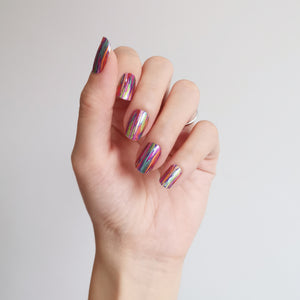 Buy Mya Rainbow Nail Polish Wraps at the lowest price in Singapore from NAILWRAP.CO. Worldwide Shipping. Instant designer nail art manicure in under 10 minutes.