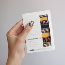 Load image into Gallery viewer, Buy Dream of the White Crane Nail Wraps at the lowest price in Singapore from NAILWRAP.CO. We Ship Worldwide. Over 300 designs! Instant designer nail art under 10 minutes