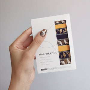 Buy Dream of the White Crane Nail Wraps at the lowest price in Singapore from NAILWRAP.CO. We Ship Worldwide. Over 300 designs! Instant designer nail art under 10 minutes
