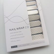 Load image into Gallery viewer, Buy Gold Mermaid Overlay 🧜🏻‍♀️ Nail Polish Wraps at the lowest price in Singapore from NAILWRAP.CO. Worldwide Shipping. Instant designer nail art manicure in under 10 minutes.