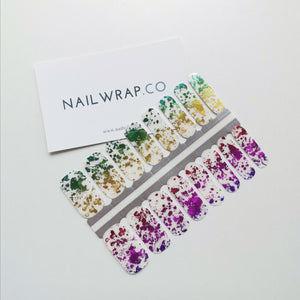 Buy Marvellous Rainbow Foil Nail Polish Wraps at the lowest price in Singapore from NAILWRAP.CO. Worldwide Shipping. Instant designer nail art manicure in under 10 minutes.