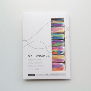 Buy Rainbow Stardust Nail Polish Wraps at the lowest price in Singapore from NAILWRAP.CO. Worldwide Shipping. Instant designer nail art manicure in under 10 minutes.