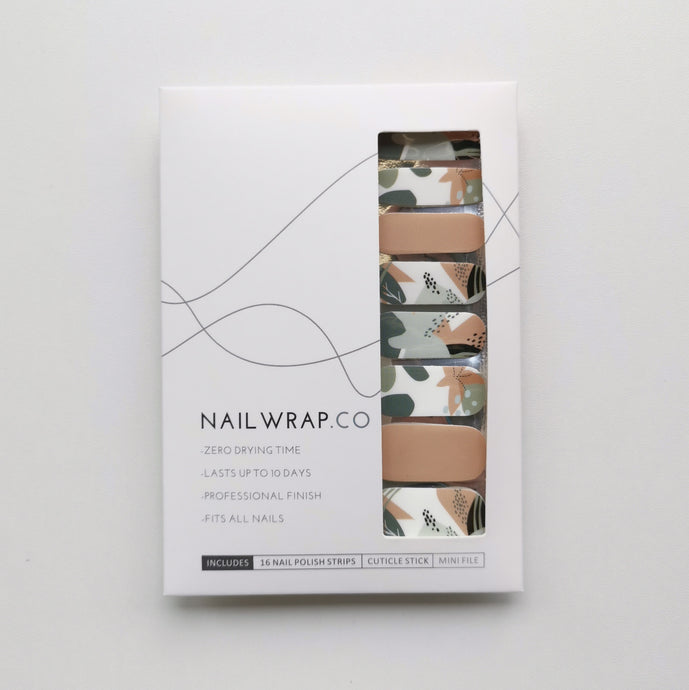 Buy Abstract Cove Nail Polish Wraps at the lowest price in Singapore from NAILWRAP.CO. Worldwide Shipping. Instant designer nail art manicure in under 10 minutes.