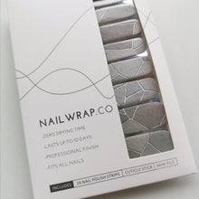 Load image into Gallery viewer, Buy Stepping Stone Nail Polish Wraps at the lowest price in Singapore from NAILWRAP.CO. Worldwide Shipping. Instant designer nail art manicure in under 10 minutes.