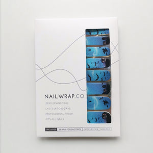 Buy Fright Night Nail Polish Wraps at the lowest price in Singapore from NAILWRAP.CO. Worldwide Shipping. Instant designer nail art manicure in under 10 minutes.