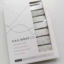 Load image into Gallery viewer, Buy Weaving Floral Overlay Nail Polish Wraps at the lowest price in Singapore from NAILWRAP.CO. Worldwide Shipping. Instant designer nail art manicure in under 10 minutes.
