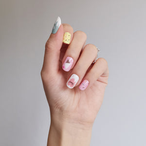 Buy Sweet Treats Nail Polish Wraps at the lowest price in Singapore from NAILWRAP.CO. Worldwide Shipping. Instant designer nail art manicure in under 10 minutes.