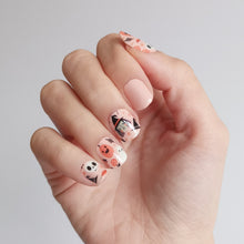 Load image into Gallery viewer, Buy The Witching Hour (Glow In The Dark) Nail Polish Wraps at the lowest price in Singapore from NAILWRAP.CO. Worldwide Shipping. Instant designer nail art manicure in under 10 minutes.