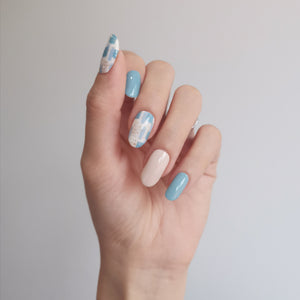 Buy Blue Instinct Nail Polish Wraps at the lowest price in Singapore from NAILWRAP.CO. Worldwide Shipping. Instant designer nail art manicure in under 10 minutes.