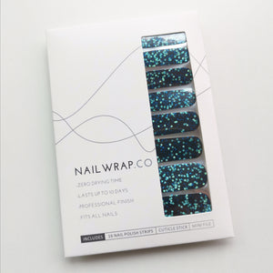Buy Blue Sparkles (Glitter) Nail Polish Wraps at the lowest price in Singapore from NAILWRAP.CO. Worldwide Shipping. Instant designer nail art manicure in under 10 minutes.