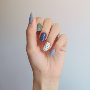 Buy Bianca Terrazzo Nail Polish Wraps at the lowest price in Singapore from NAILWRAP.CO. Worldwide Shipping. Instant designer nail art manicure in under 10 minutes.