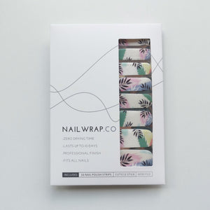 Buy Tropical Bliss Nail Polish Wraps at the lowest price in Singapore from NAILWRAP.CO. Worldwide Shipping. Instant designer nail art manicure in under 10 minutes.
