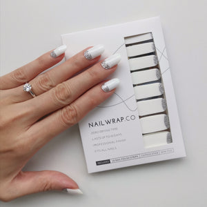 Buy Snow Storm Nail Polish Wraps at the lowest price in Singapore from NAILWRAP.CO. Worldwide Shipping. Instant designer nail art manicure in under 10 minutes.