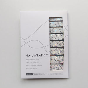 Buy Holo Shards Overlay Nail Polish Wraps at the lowest price in Singapore from NAILWRAP.CO. Worldwide Shipping. Instant designer nail art manicure in under 10 minutes.
