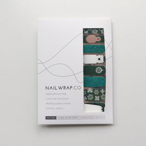 Buy Snow Time! Nail Polish Wraps at the lowest price in Singapore from NAILWRAP.CO. Worldwide Shipping. Instant designer nail art manicure in under 10 minutes.