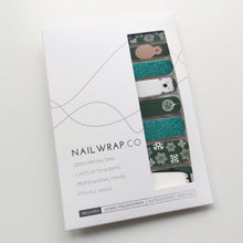 Load image into Gallery viewer, Buy Snow Time! Nail Polish Wraps at the lowest price in Singapore from NAILWRAP.CO. Worldwide Shipping. Instant designer nail art manicure in under 10 minutes.