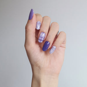 Buy Purple Ditsy Floral Nail Polish Wraps at the lowest price in Singapore from NAILWRAP.CO. Worldwide Shipping. Instant designer nail art manicure in under 10 minutes.