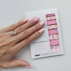 Buy Botanical Pink Nail Polish Wraps at the lowest price in Singapore from NAILWRAP.CO. Worldwide Shipping. Instant designer nail art manicure in under 10 minutes.