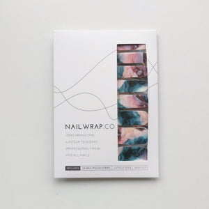 Buy Rowane Watercolor Nail Polish Wraps at the lowest price in Singapore from NAILWRAP.CO. Worldwide Shipping. Instant designer nail art manicure in under 10 minutes.