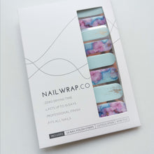 Load image into Gallery viewer, Buy Harper Blooms Nail Polish Wraps at the lowest price in Singapore from NAILWRAP.CO. Worldwide Shipping. Instant designer nail art manicure in under 10 minutes.