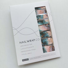 Load image into Gallery viewer, Buy Rowane Gold Foil Nail Polish Wraps at the lowest price in Singapore from NAILWRAP.CO. Worldwide Shipping. Instant designer nail art manicure in under 10 minutes.