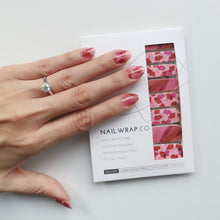 Load image into Gallery viewer, Buy Perin Petals Nail Polish Wraps at the lowest price in Singapore from NAILWRAP.CO. Worldwide Shipping. Instant designer nail art manicure in under 10 minutes.