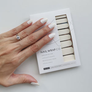 Buy Ivory White (Solid) Nail Polish Wraps at the lowest price in Singapore from NAILWRAP.CO. Worldwide Shipping. Instant designer nail art manicure in under 10 minutes.