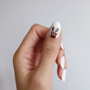 Buy Reindeer 🎄 Nail Polish Wraps at the lowest price in Singapore from NAILWRAP.CO. Worldwide Shipping. Instant designer nail art manicure in under 10 minutes.