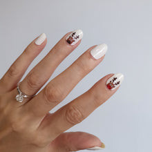 Load image into Gallery viewer, Buy Reindeer 🎄 Nail Polish Wraps at the lowest price in Singapore from NAILWRAP.CO. Worldwide Shipping. Instant designer nail art manicure in under 10 minutes.
