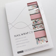 Load image into Gallery viewer, Buy Butterfly Garden 🦋 Nail Polish Wraps at the lowest price in Singapore from NAILWRAP.CO. Worldwide Shipping. Instant designer nail art manicure in under 10 minutes.