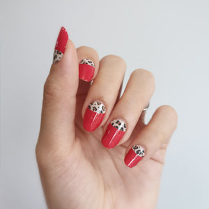 Buy Sassy Leopard Nail Polish Wraps at the lowest price in Singapore from NAILWRAP.CO. Worldwide Shipping. Instant designer nail art manicure in under 10 minutes.