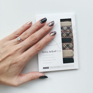Buy Coco Tweed Nail Polish Wraps at the lowest price in Singapore from NAILWRAP.CO. Worldwide Shipping. Instant designer nail art manicure in under 10 minutes.