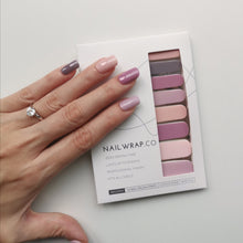 Load image into Gallery viewer, Buy Sugar Berry Palette (Solid) Nail Polish Wraps at the lowest price in Singapore from NAILWRAP.CO. Worldwide Shipping. Instant designer nail art manicure in under 10 minutes.