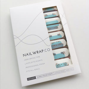 Buy Robin Blue Nail Polish Wraps at the lowest price in Singapore from NAILWRAP.CO. Worldwide Shipping. Instant designer nail art manicure in under 10 minutes.