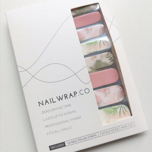 Buy Aubrey Abstract Floral Nail Polish Wraps at the lowest price in Singapore from NAILWRAP.CO. Worldwide Shipping. Instant designer nail art manicure in under 10 minutes.