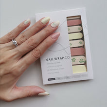 Load image into Gallery viewer, Buy A Little Green 🌿 Nail Polish Wraps at the lowest price in Singapore from NAILWRAP.CO. Worldwide Shipping. Instant designer nail art manicure in under 10 minutes.