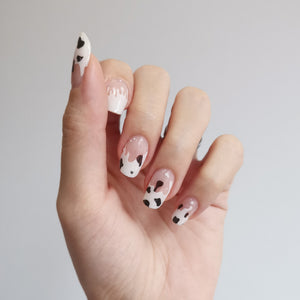 Buy Moo Moo Cow 🐄 Nail Polish Wraps at the lowest price in Singapore from NAILWRAP.CO. Worldwide Shipping. Instant designer nail art manicure in under 10 minutes.