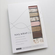 Load image into Gallery viewer, Buy Demure Nail Polish Wraps at the lowest price in Singapore from NAILWRAP.CO. Worldwide Shipping. Instant designer nail art manicure in under 10 minutes.