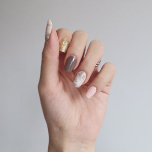 Buy Demure Nail Polish Wraps at the lowest price in Singapore from NAILWRAP.CO. Worldwide Shipping. Instant designer nail art manicure in under 10 minutes.