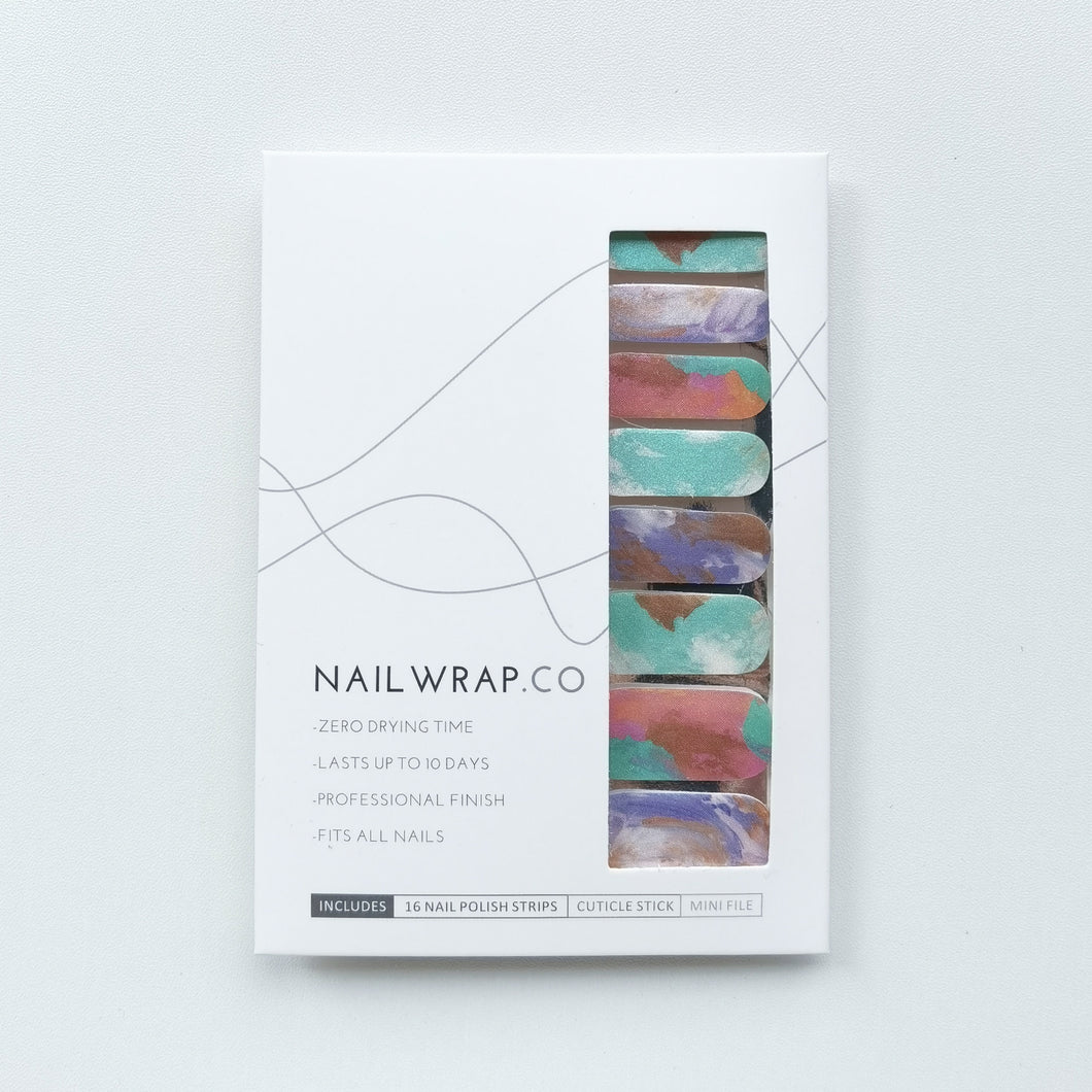Buy Shimmering Paint Nail Polish Wraps at the lowest price in Singapore from NAILWRAP.CO. Worldwide Shipping. Instant designer nail art manicure in under 10 minutes.