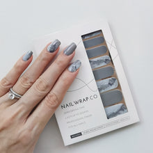 Load image into Gallery viewer, Buy Italian Marble Nail Polish Wraps at the lowest price in Singapore from NAILWRAP.CO. Worldwide Shipping. Instant designer nail art manicure in under 10 minutes.