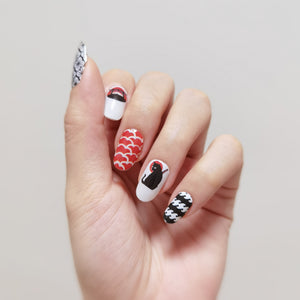 Buy Ninja Cat - Nail Wrap of the Week Nail Polish Wraps at the lowest price in Singapore from NAILWRAP.CO. Worldwide Shipping. Instant designer nail art manicure in under 10 minutes.