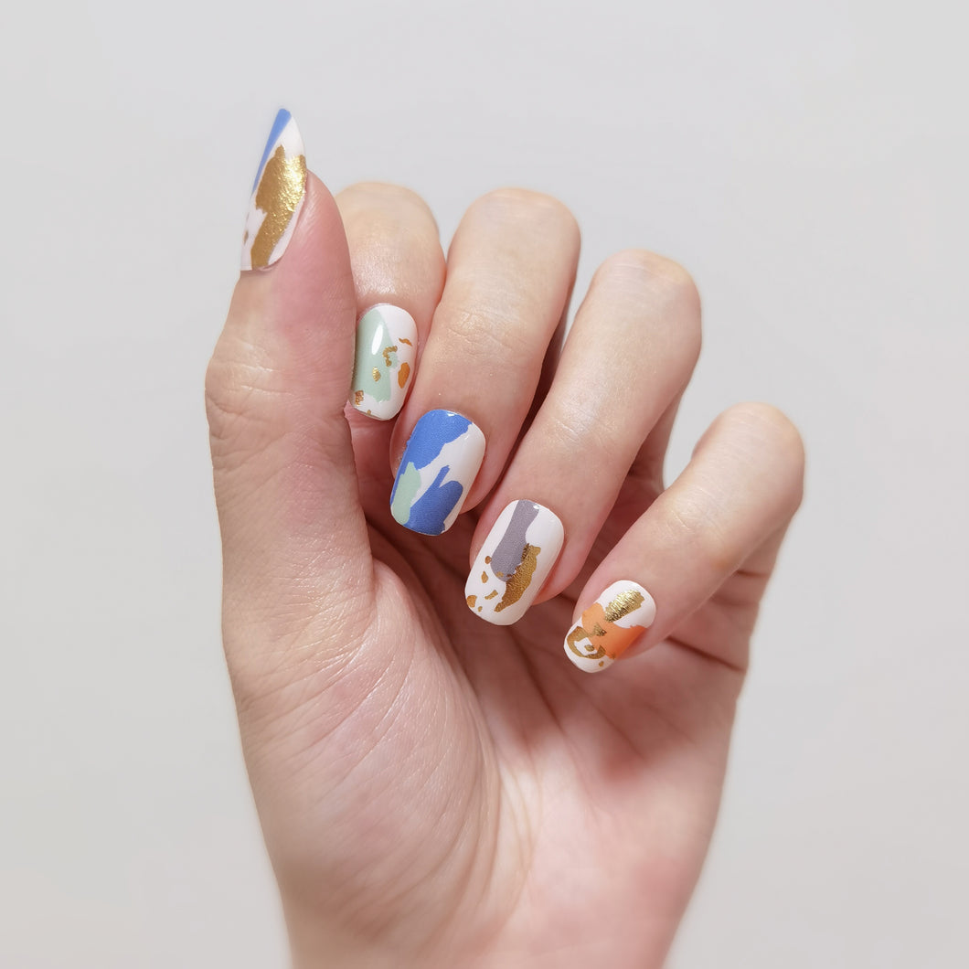 Buy Autumn Abstract Nail Polish Wraps at the lowest price in Singapore from NAILWRAP.CO. Worldwide Shipping. Instant designer nail art manicure in under 10 minutes.