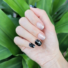 Load image into Gallery viewer, Buy Layla Glitter Nail Polish Wraps at the lowest price in Singapore from NAILWRAP.CO. Worldwide Shipping. Instant designer nail art manicure in under 10 minutes.