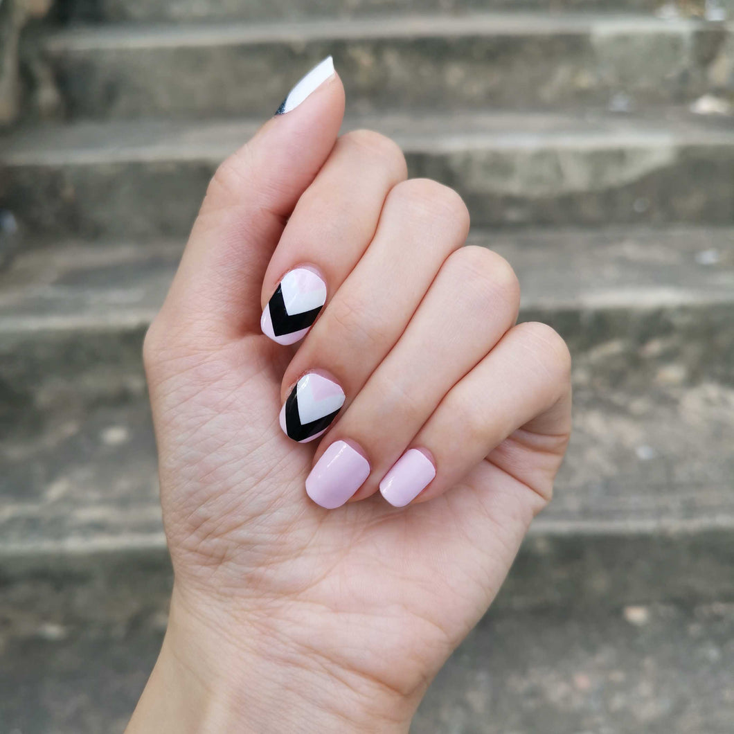 Buy Leora Pink Nail Polish Wraps at the lowest price in Singapore from NAILWRAP.CO. Worldwide Shipping. Instant designer nail art manicure in under 10 minutes.