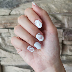 Buy Nadeleine White Nail Polish Wraps at the lowest price in Singapore from NAILWRAP.CO. Worldwide Shipping. Instant designer nail art manicure in under 10 minutes.